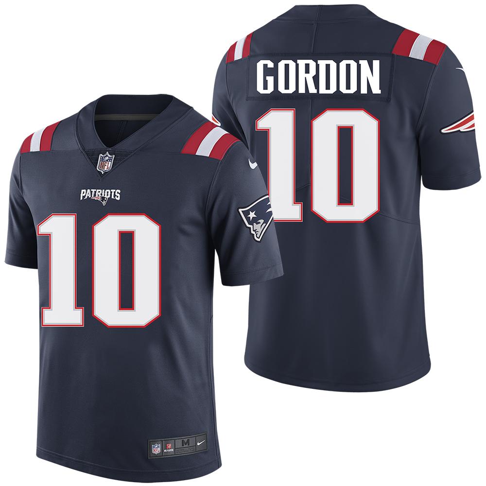 the best attitude 4e14f f4e57 Nike Josh Gordon #10 Color Rush Limited Jersey-Navy ...