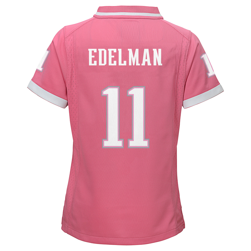 Girls Julian Edelman Jersey-Pink