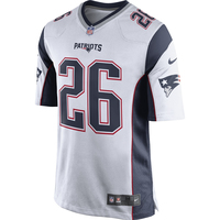 Nike Sony Michel #26 Game Jersey-White