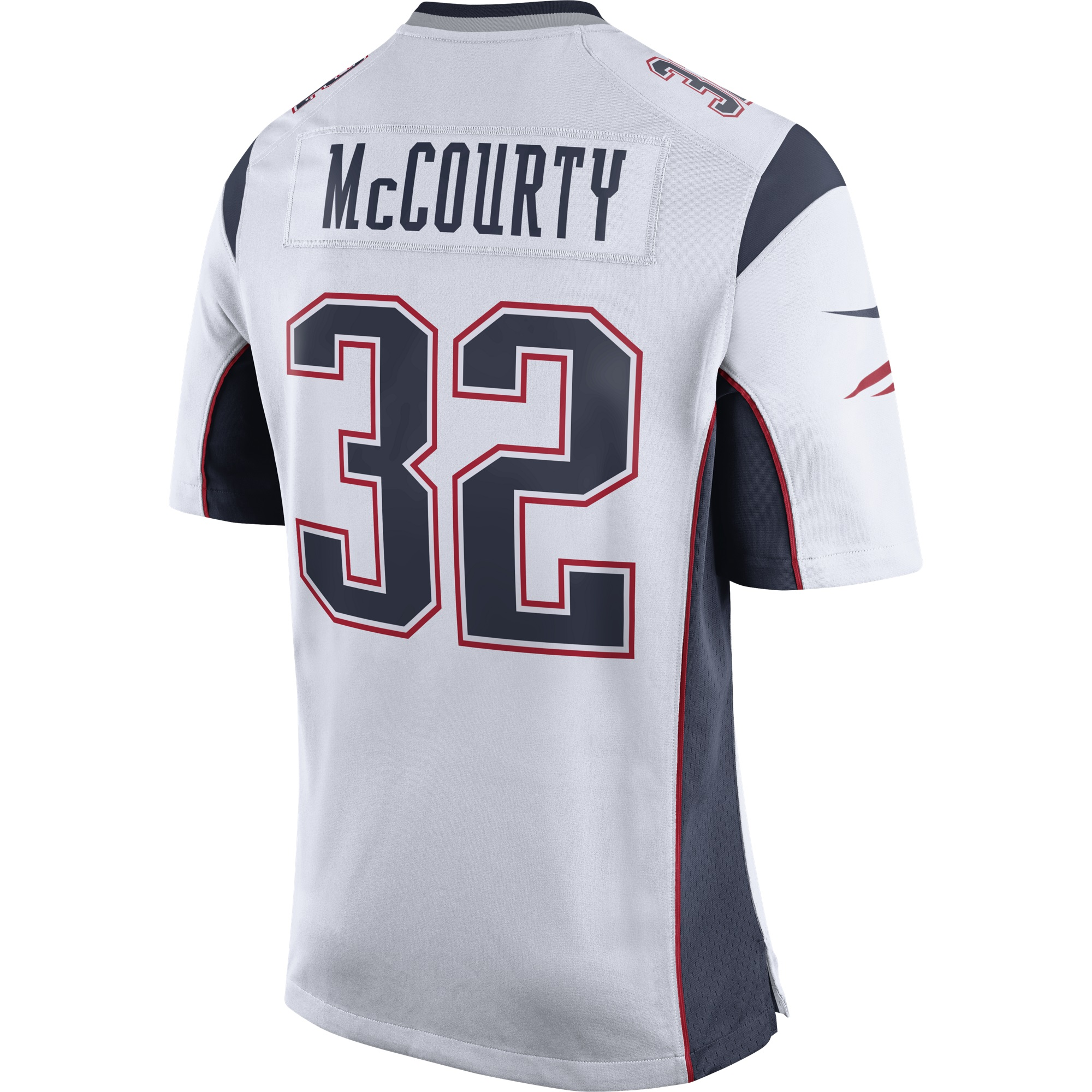 official photos 57c8f beca0 Nike Devin McCourty #32 Game Jersey-White - Patriots ProShop