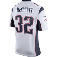 Nike Devin McCourty #32 Game Jersey-White
