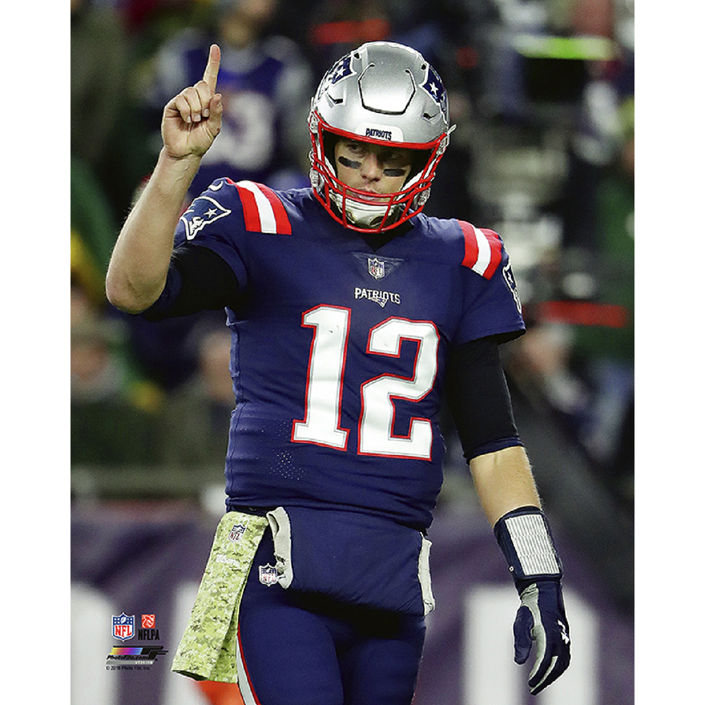 Tom Brady 8x10 Carded Photo