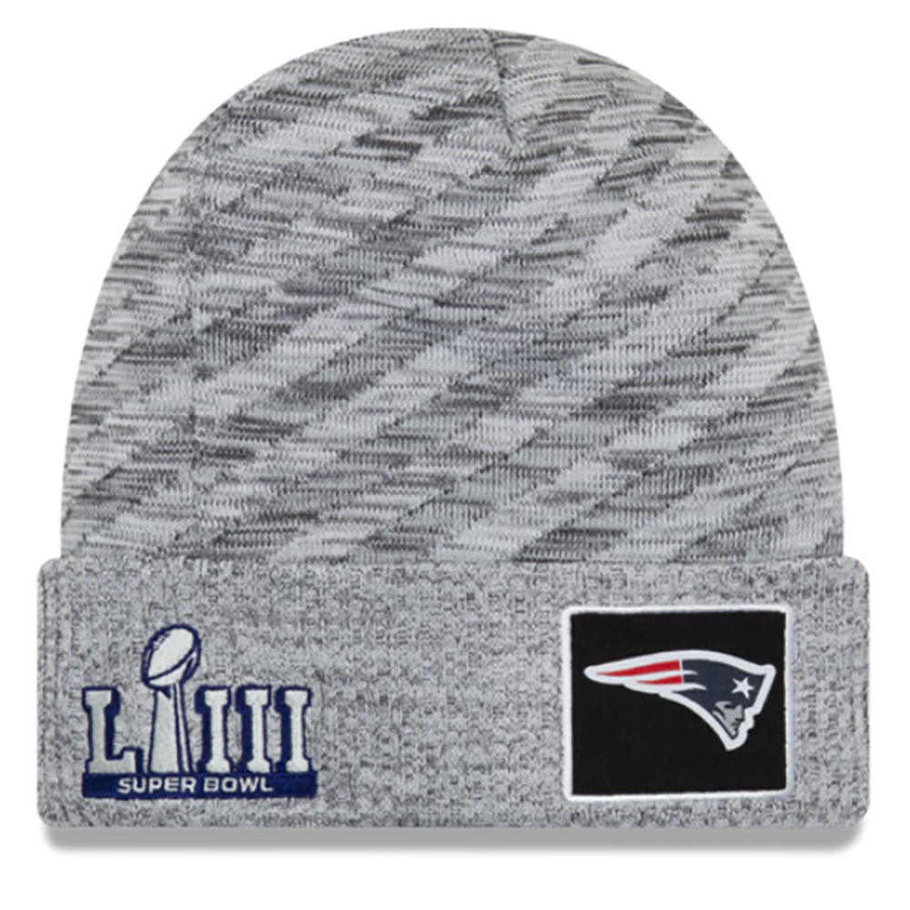 477175920 New Era Super Bowl LIII Sideline Knit - Patriots ProShop