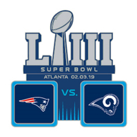 Super Bowl LIII Dueling Pin