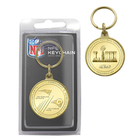 2018 AFC Champions Bronze Keychain