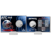 Super Bowl LIII Flip Coin Card