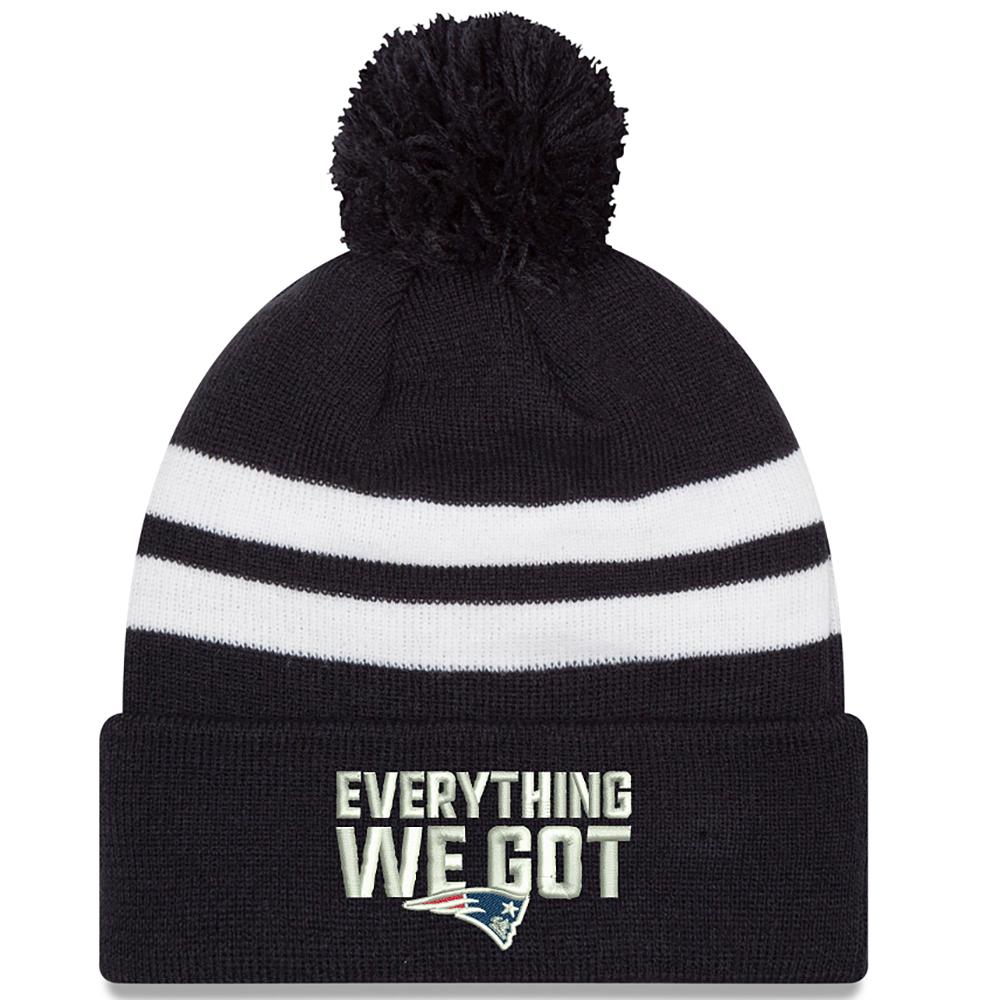 0f1532a18c0 New Era Everything We Got Pom Knit - Patriots ProShop