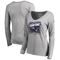 Ladies Super Bowl LIII Champions Long Sleeve Tee