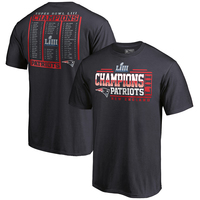 Super Bowl LIII Champions Roster Tee