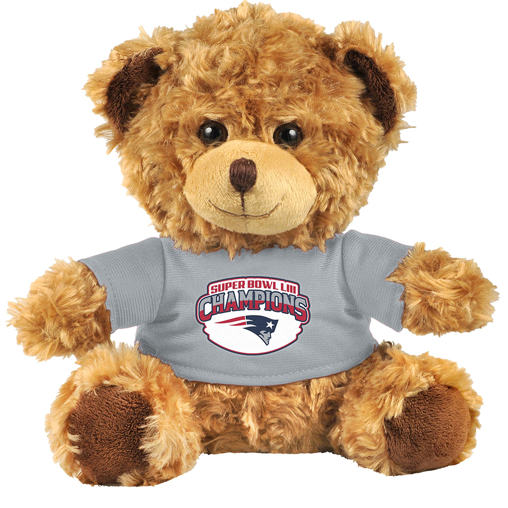 Super Bowl LIII Seated Plush Bear