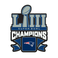 Super Bowl LIII Champions Lapel Pin
