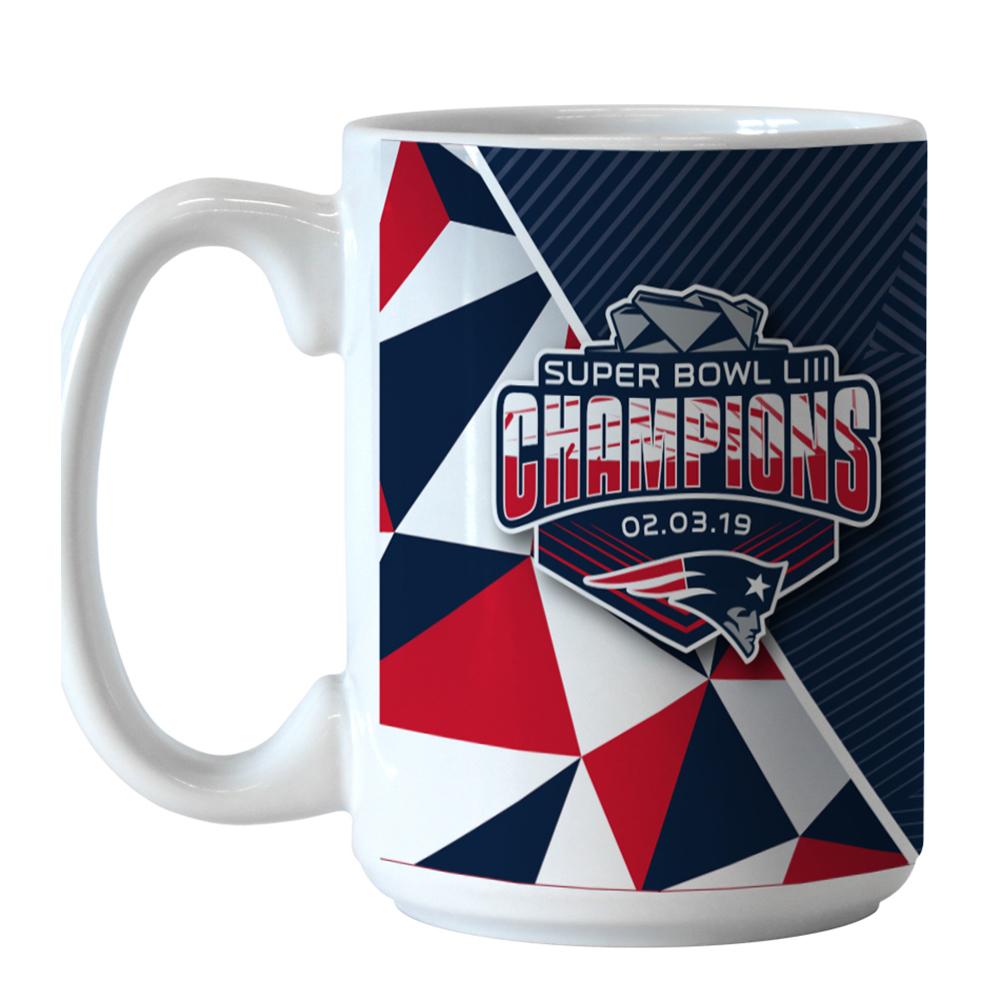 Super Bowl LIII Champions Roster Coffee Mug - Patriots ProShop df5111686
