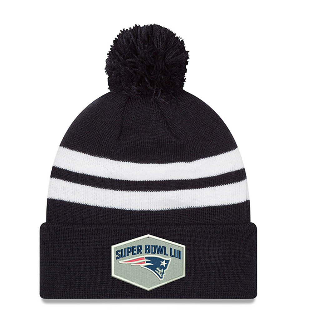 New Era Super Bowl LIII Logo Knit