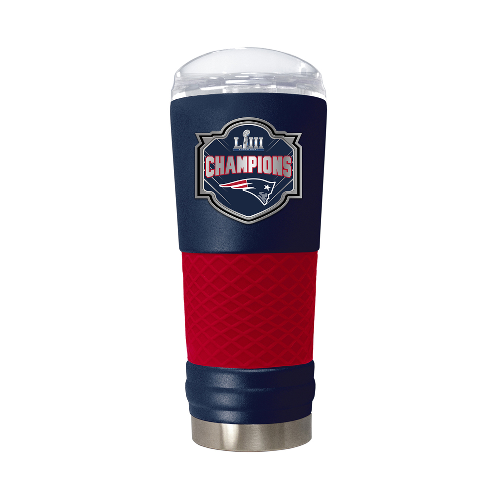 Super Bowl LIII Champions Steel 24 oz Beverage Cup