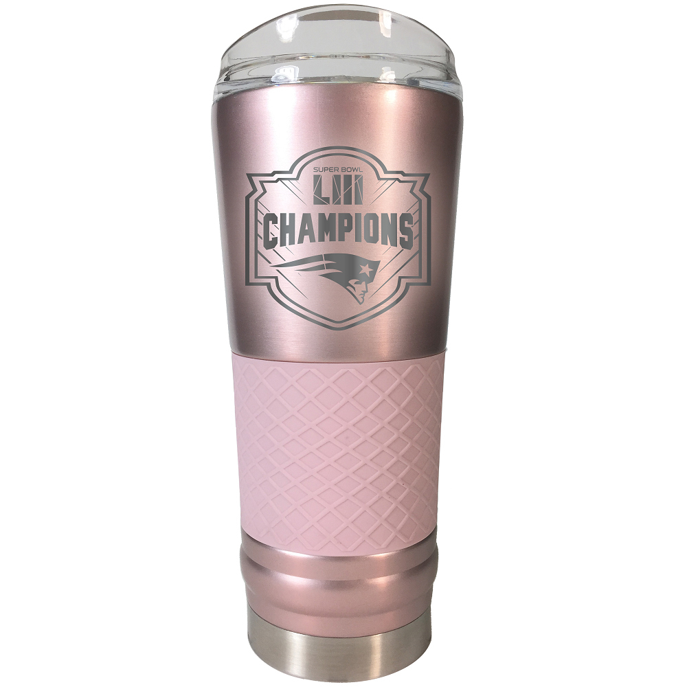 Super Bowl LIII Champions Steel 24 oz Beverage Cup - Rose