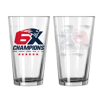 6X Champions Pint Glass