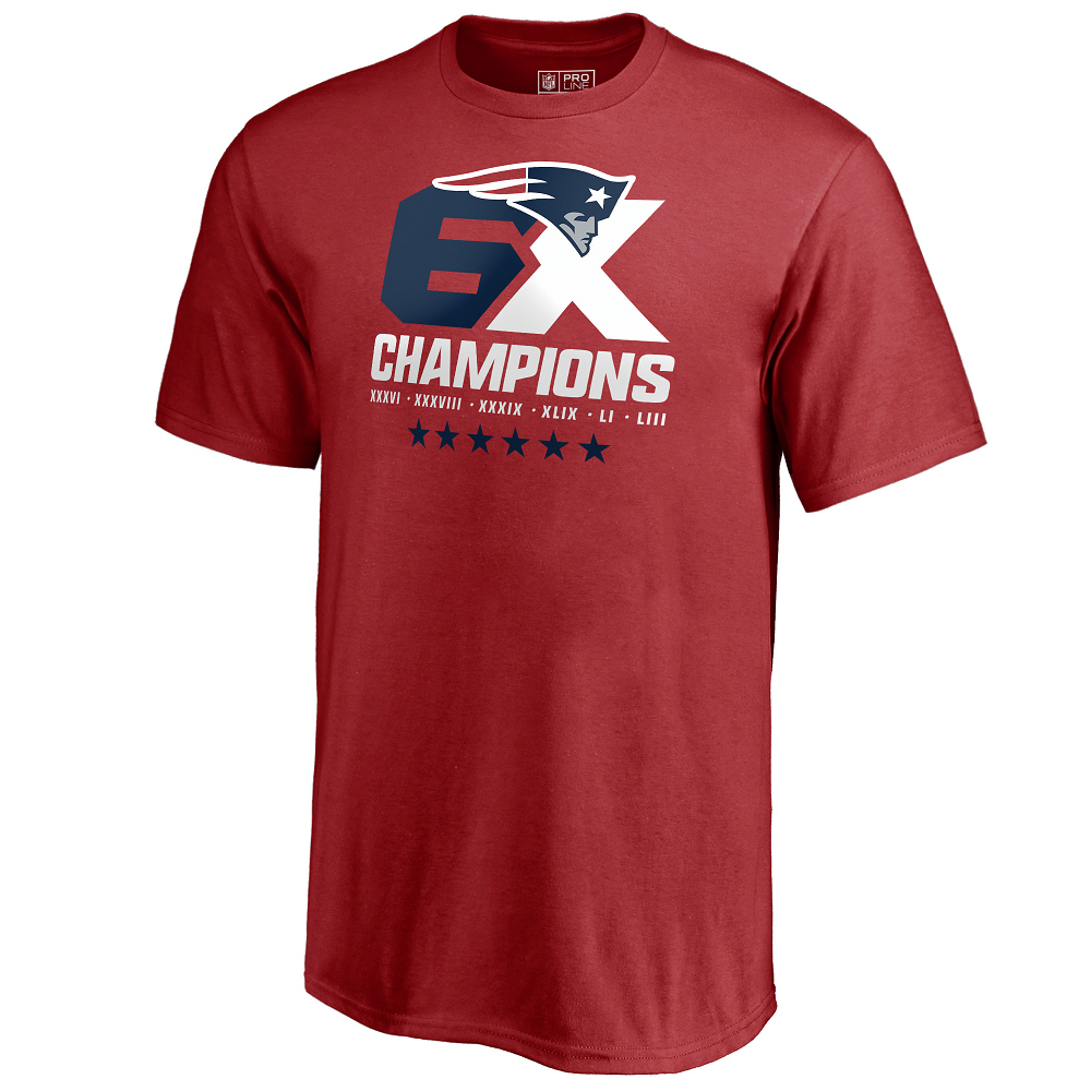 Youth 6X Champions Tee-Red