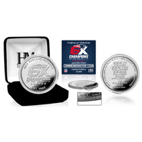 6X Champs Silver Coin in Box