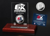 6X Champs Coin in Acrylic Stand