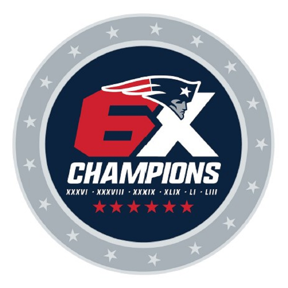 6X Champions Collectors Pin