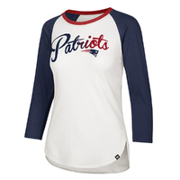 Ladies '47 Gradient Script Raglan Top
