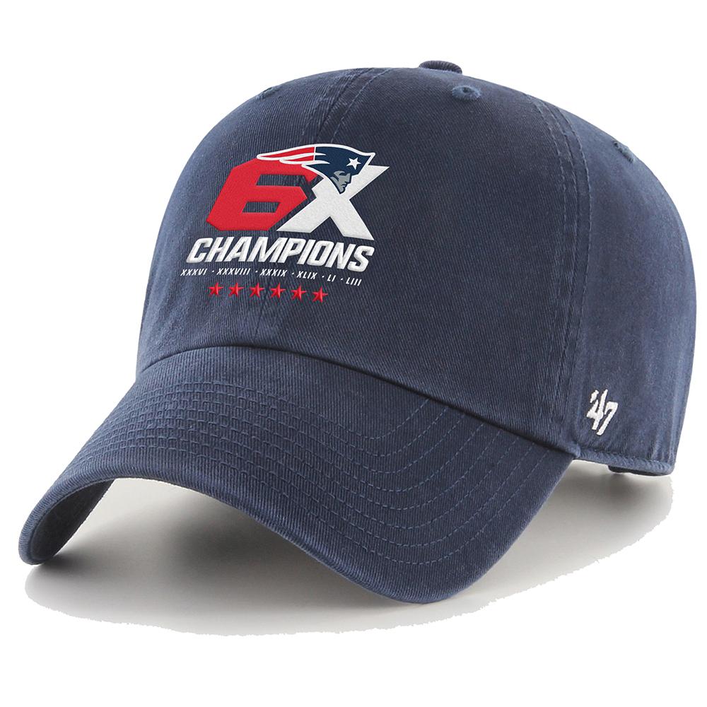 47 6x Champions Slouch Cap Patriots Proshop