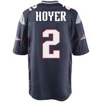 Nike Brian Hoyer #2 Game Jersey-Navy