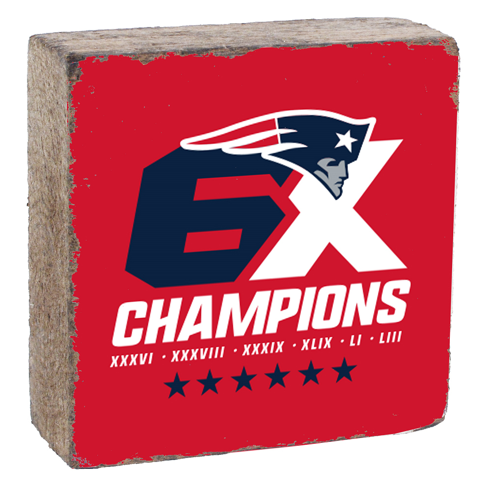 Rustic 6X Champions Block-Red