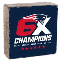 Rustic 6X Champions Block-Navy