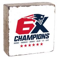 Rustic 6X Champions Block-White