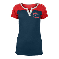 Junior Ladies Triblend Notch Top