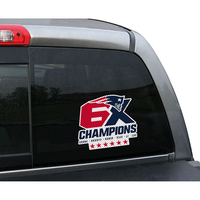 6X Champions Window Film