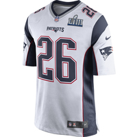 Nike Sony Michel SB53 Game Jersey-White