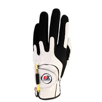 6X Champs Golf Glove-White