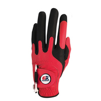 6X Champs Golf Glove-Red