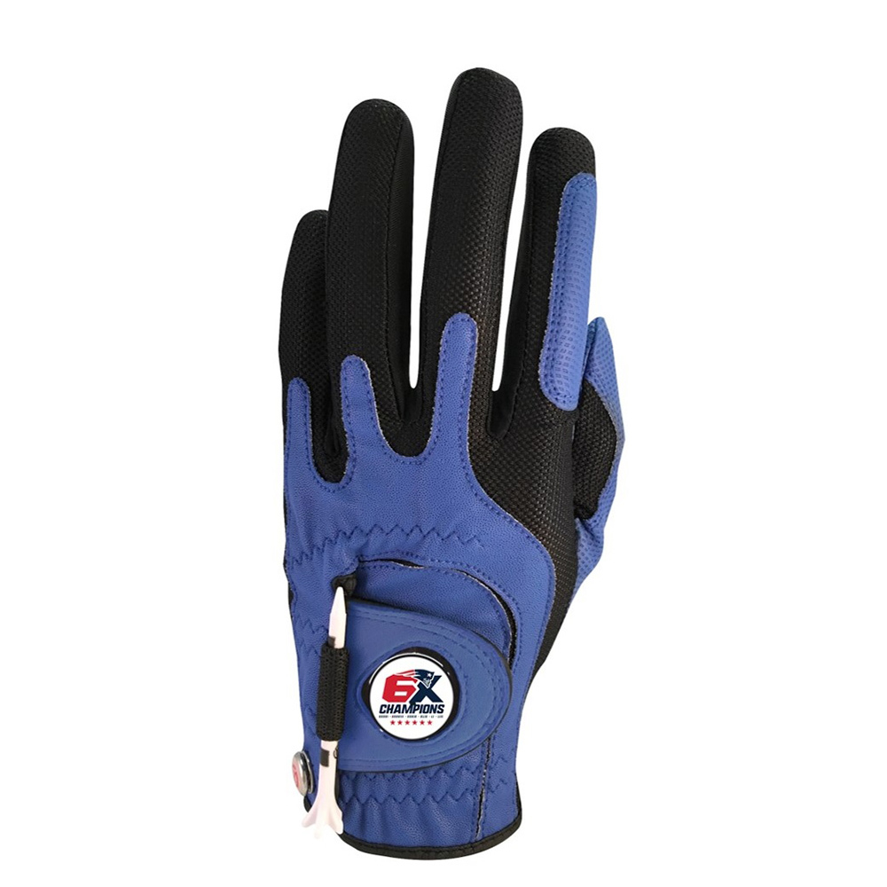 6X Champs Golf Glove-Navy