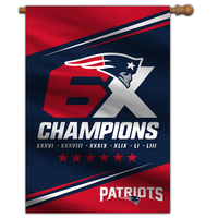 6X Champs House Flag
