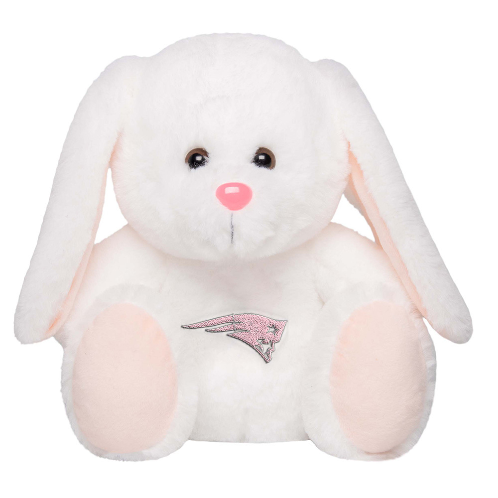 Patriots SoftFur White Bunny