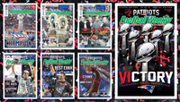 PFW 6X Super Bowl Covers 58x33 Poster