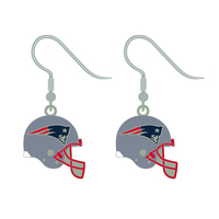 Helmet Logo J-Hook Earrings