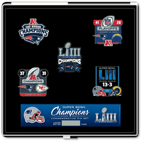 Super Bowl LIII Champions 5pc Pin Set
