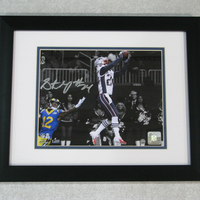 Autographed Stephon Gilmore Framed Photo
