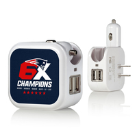6X Champions USB Plug In Charger