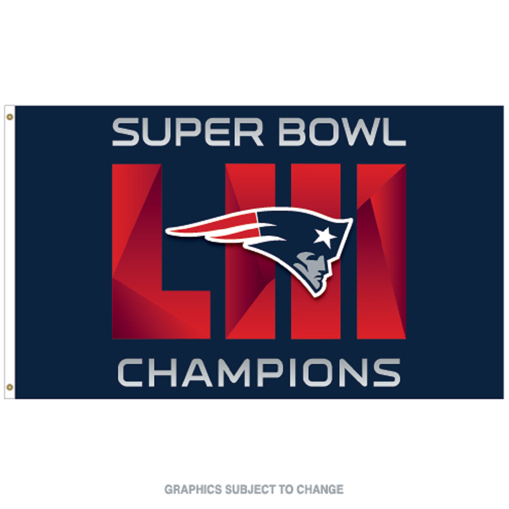 Super Bowl LIII Champions Flag