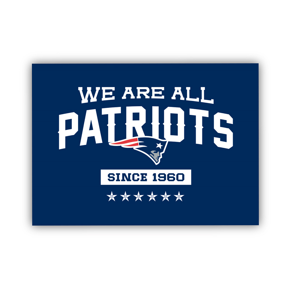 We Are All Patriots Magnet