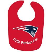 Little Pats Fan Bib-Red