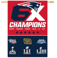 6X Champions Vertical Flag