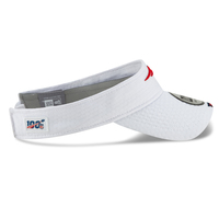 New Era 2019 Training Visor-White