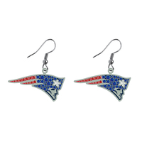 Large Logo Bling Earrings