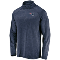 Fanatics Logo Striated 1/4 Zip Top
